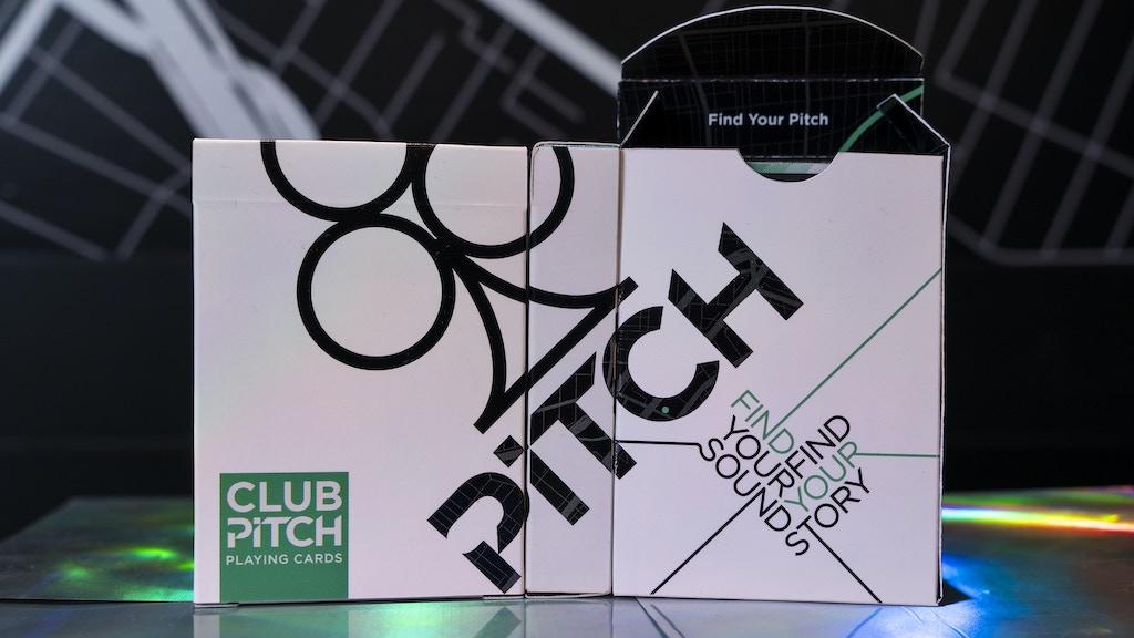 Club Pitch V2: Playing Cards