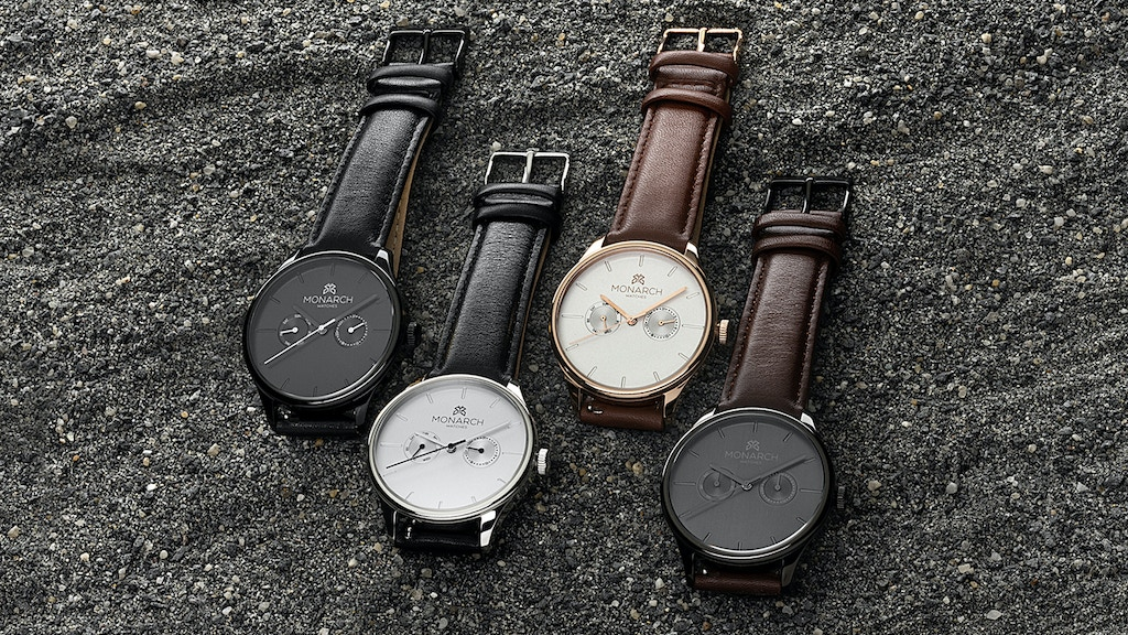 Monarch Watches - Puzzles and Watches Combined?