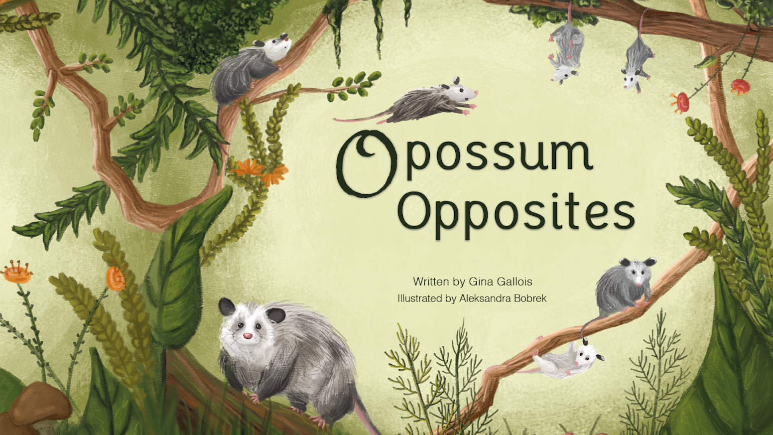 A rhyming children's book to introduce opposites while teaching empathy through the lens of a unique & misunderstood animal