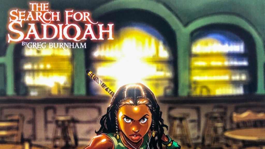 The Search for Sadiqah: Issue Zero project video thumbnail