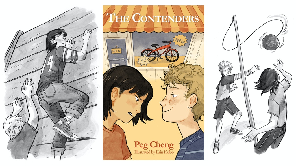 The Contenders: an illustrated middle-grade novel project video thumbnail
