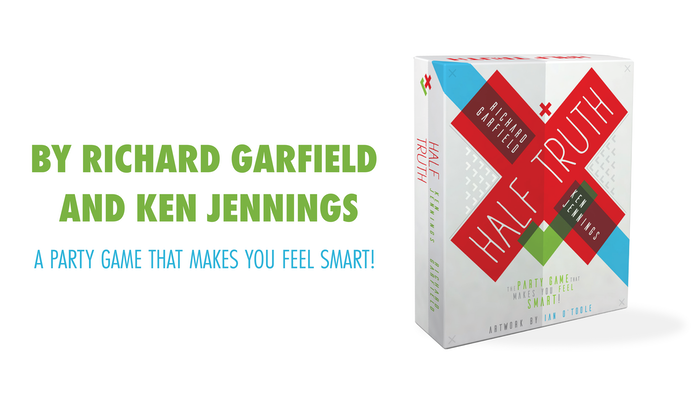 A party game by Richard Garfield and Ken Jennings