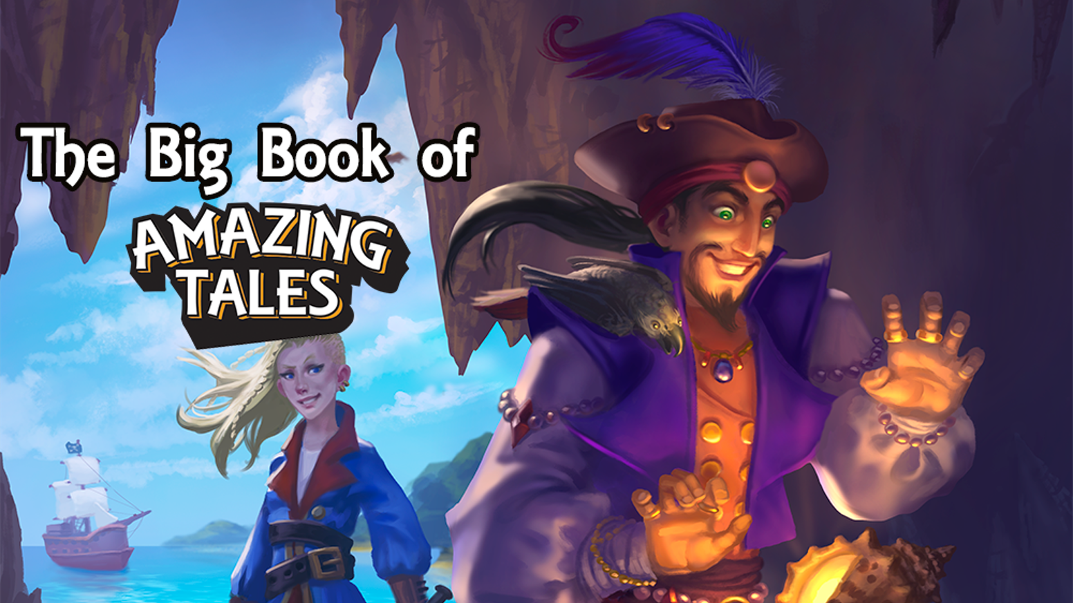 A collection of adventures for the Amazing Tales RPG. Aimed at kids aged 4 and up.