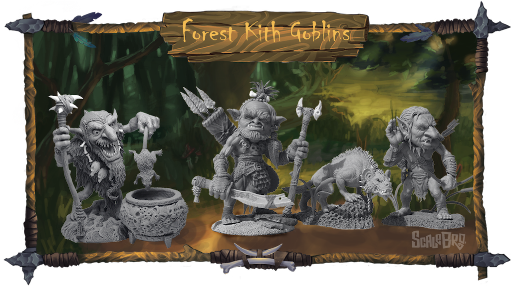 Project image for Forest Kith Goblins Miniatures