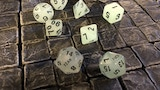 Fuck Yeah D20 Dice Sets - Glow-in-the-Dark thumbnail