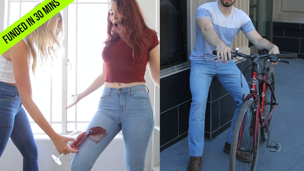 ECO-FRIENDLY JEANS WITH 20 FEATURES project video thumbnail
