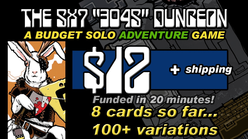Project image for 3045 AN APOCALYPTIC FANTASY 5x7 DUNGEON CARD SET