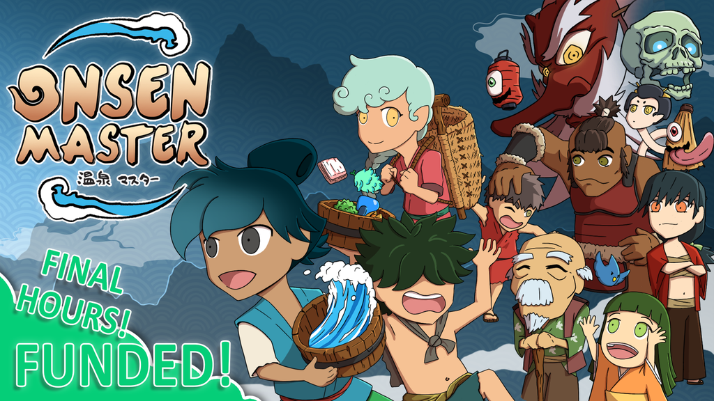 Onsen Master - A hot spring strategy game about healing! project video thumbnail