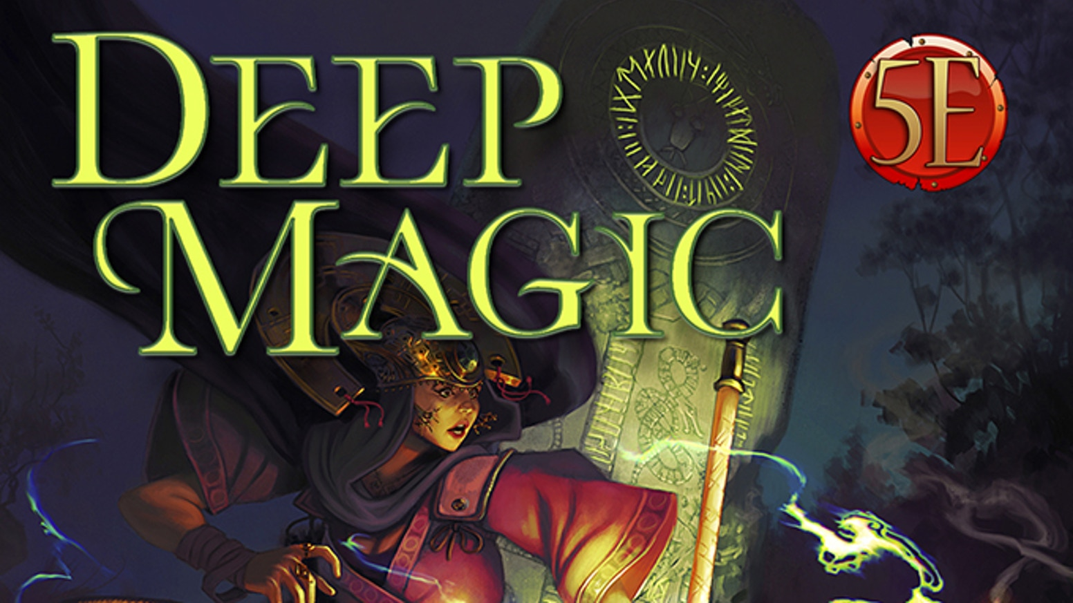 A grimoire of over 700 new 5th Edition spells, subclasses & wizardly options for unlimited spellpower from battle magic to void magic!