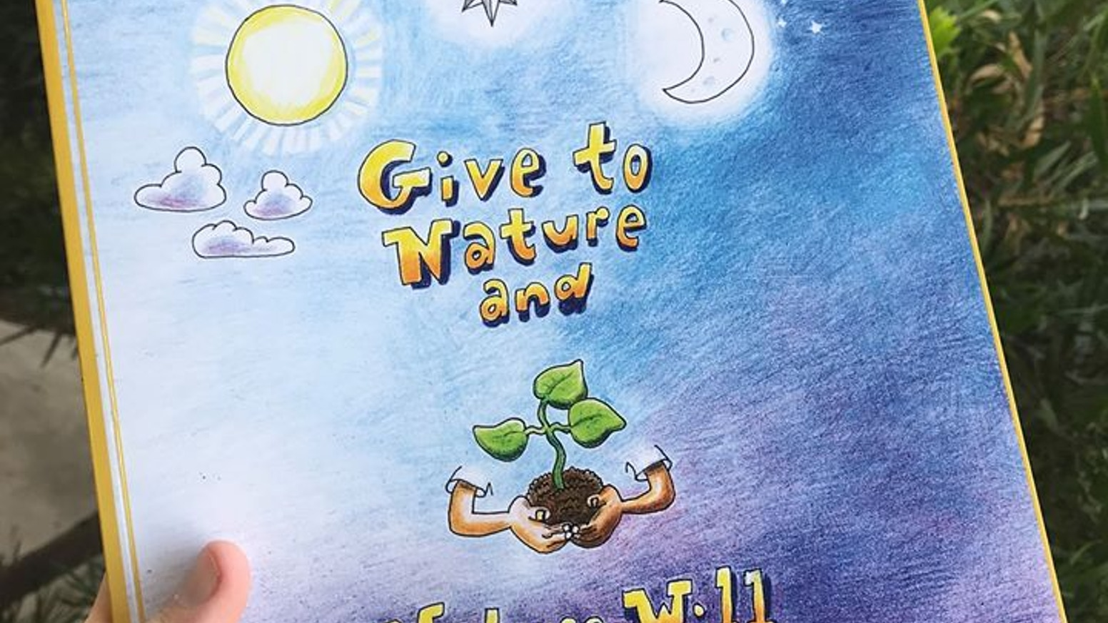 An illustrated children's book about our behavior in nature. Suitable for ages 4 – 12