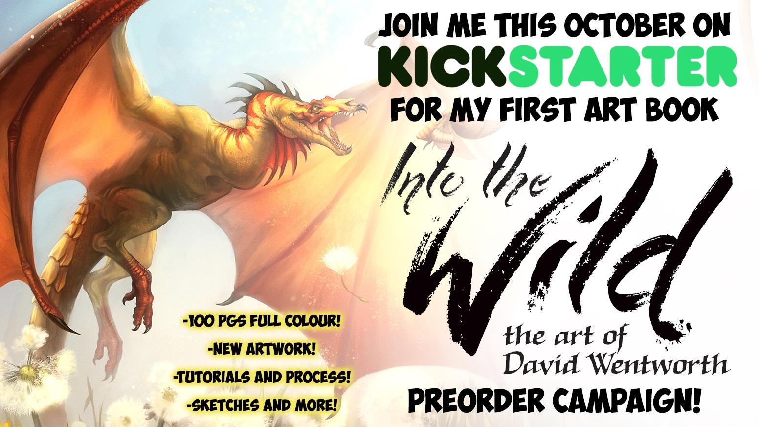 artbook pre-order campaign