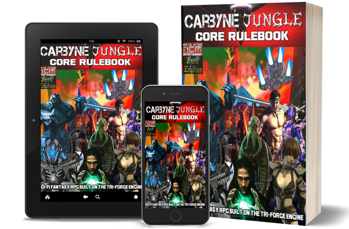 Carbyne Jungle: A brand new Tabletop RPG with unique advancement, amazing gameplay, and an expansive Sci-Fi Fantasy setting