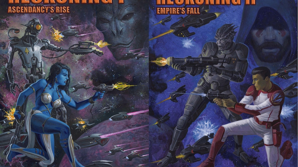 Galaxy Ascendant Books 4 & 5: A Fiery Reckoning Parts 1 & 2 project video thumbnail