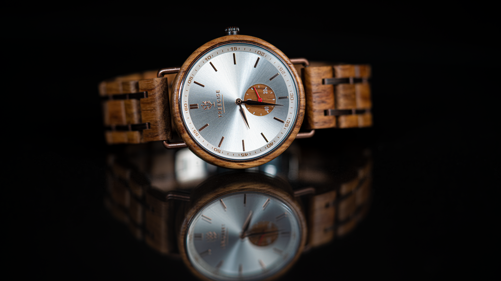 Treecise | All Natural Wood + Metal Watch for Any Occasion