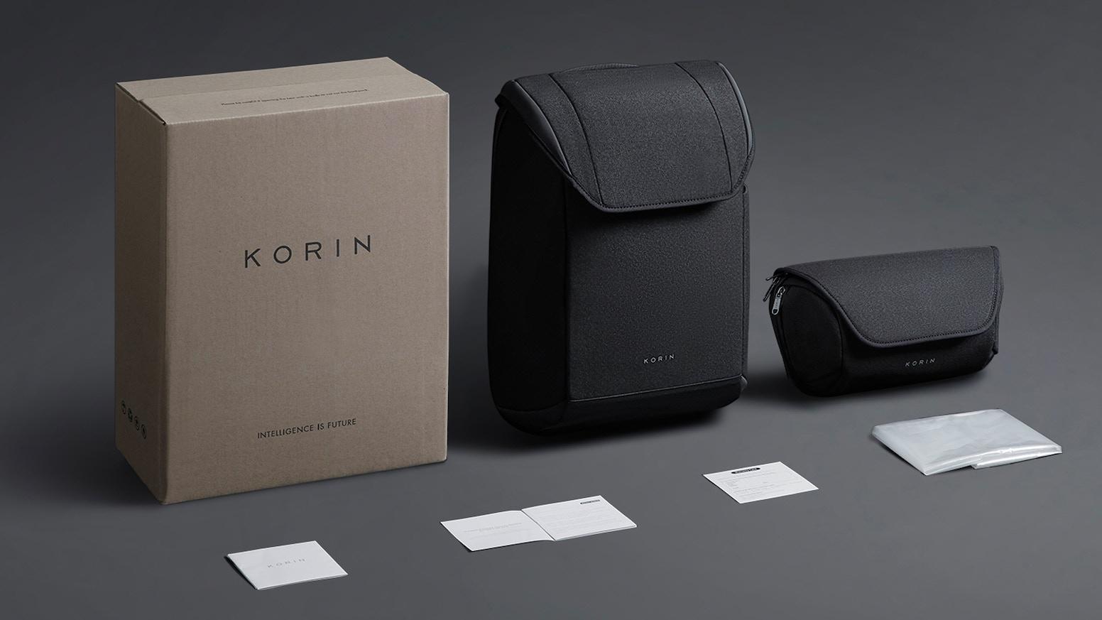 A sleek functional anti-theft backpack