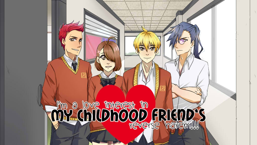 I'm a love interest in my childhood friend's reverse harem!! project video thumbnail
