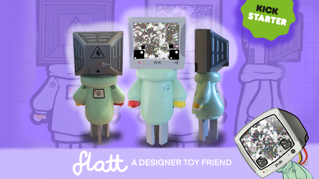 Project image for Flatt: A Designer Toy friend