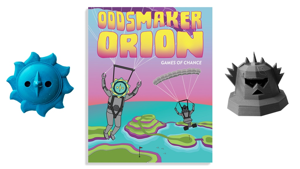 Oddsmaker Orion, Games of Chance, A Gamified Children's Book project video thumbnail