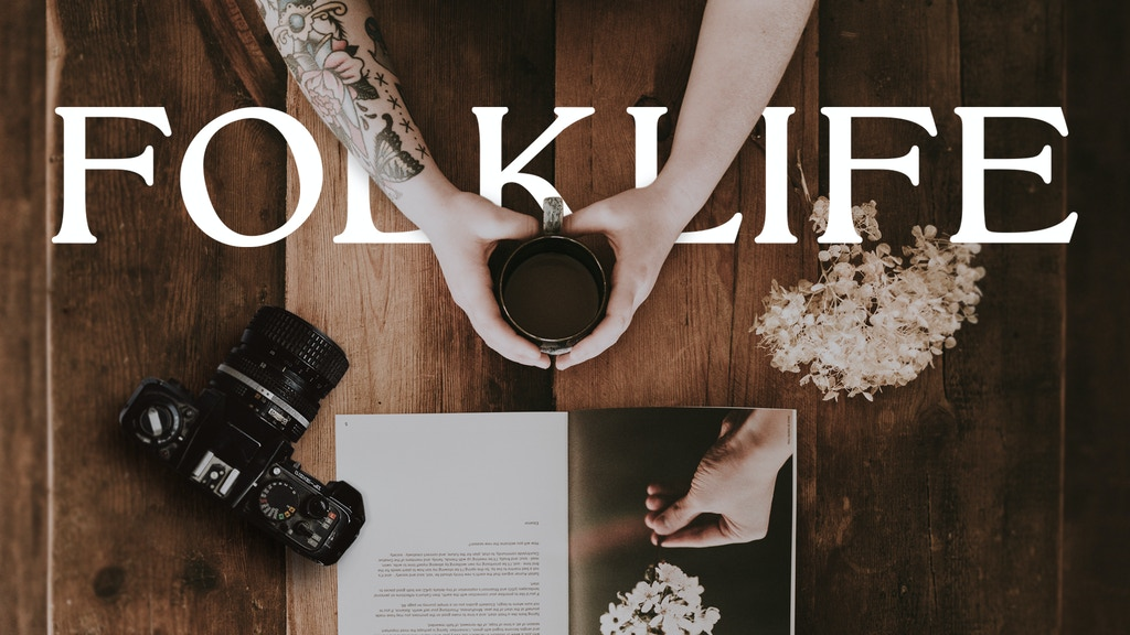 Help Bring FOLKLIFE to Life! project video thumbnail