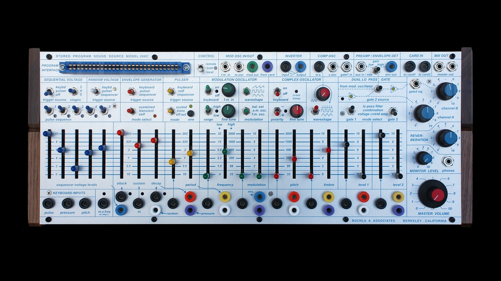 Buchla EASEL COMMAND / 208c Synthesizer project video thumbnail