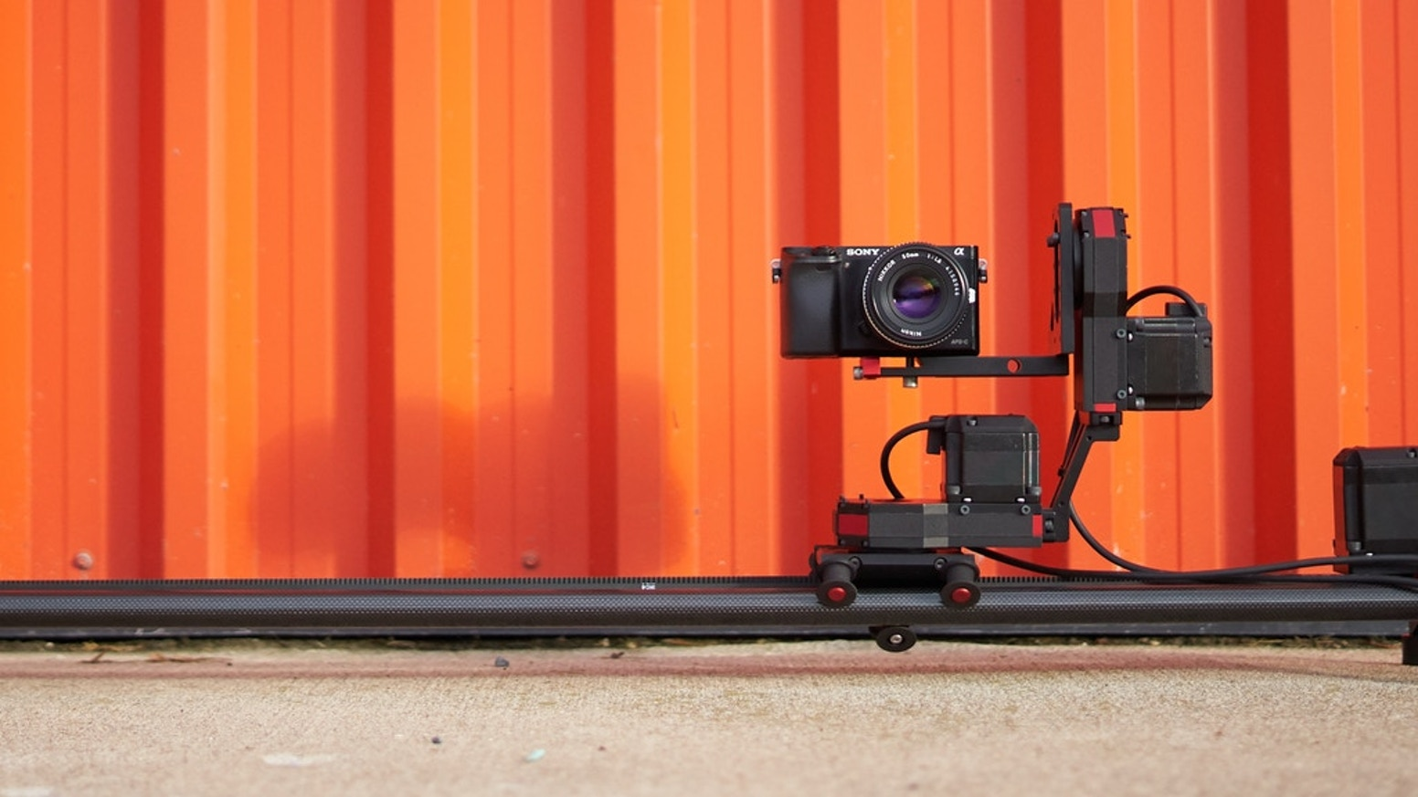 An automated camera mount that can be used to frame up subjects and take pictures and video with a DSLR -> CLICK BELOW TO BACK AXIBOv2.0!