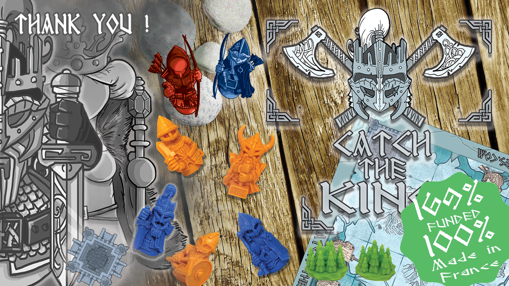 CATCH THE KING - An asymetric Viking strategy game project video thumbnail