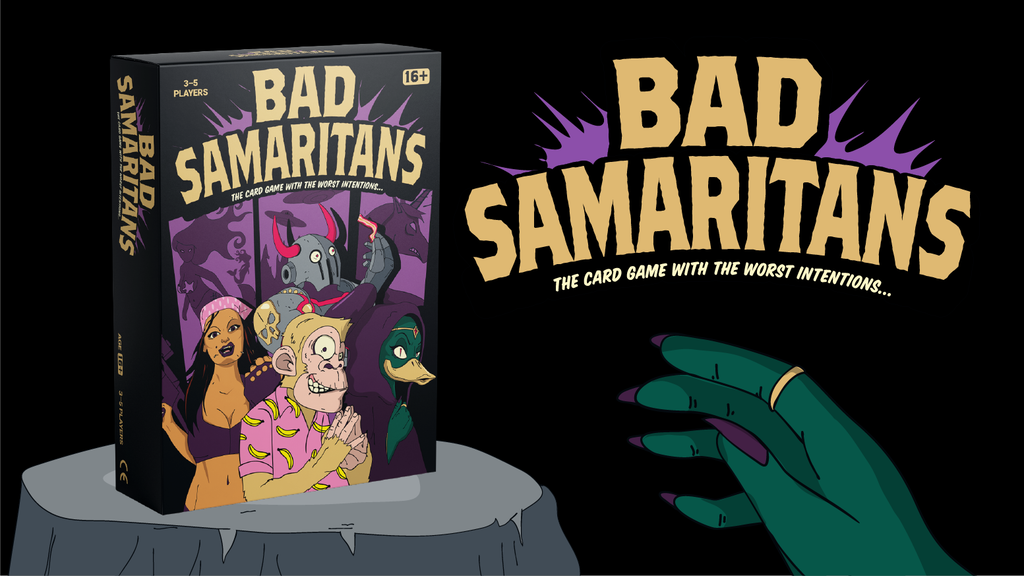 Bad Samaritans: The Comic Book Style card game! project video thumbnail