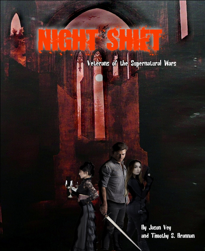 Night Shift: Veterans of the Supernatural Wars RPG