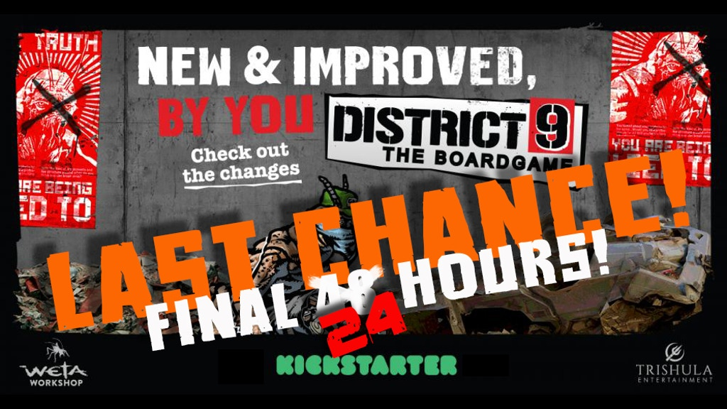 District 9: The Boardgame project video thumbnail