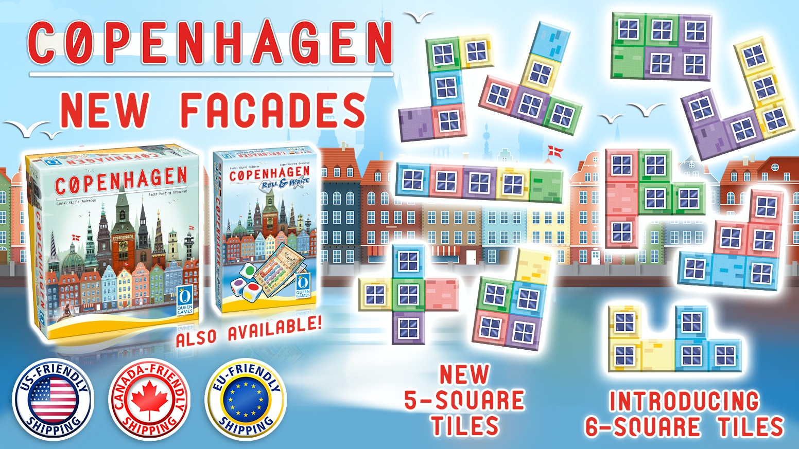 Expand the world of Copenhagen with a new Queenie and some attractive bundles.
