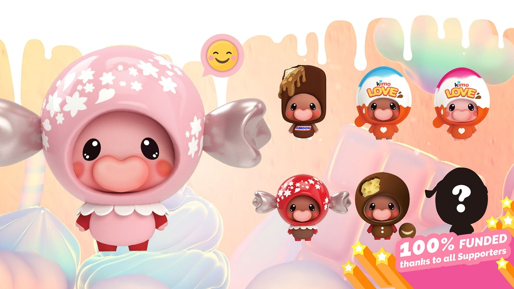 KIMOCHU: Limited Edition Art Toys by JOURNEY TO THE SWEET project video thumbnail