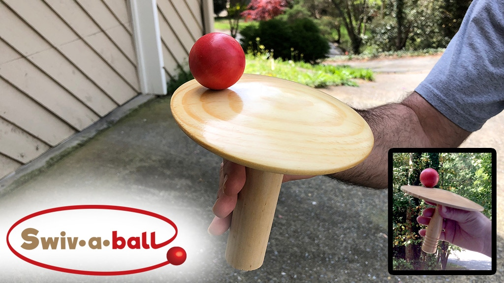 Swiv•a•ball - The Ball Balancing Skill Toy & Game project video thumbnail