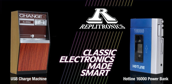 RepliTronics brings back the heyday of 80s and 90s electronics with iconic devices reimagined for the modern electronic ecosystem.