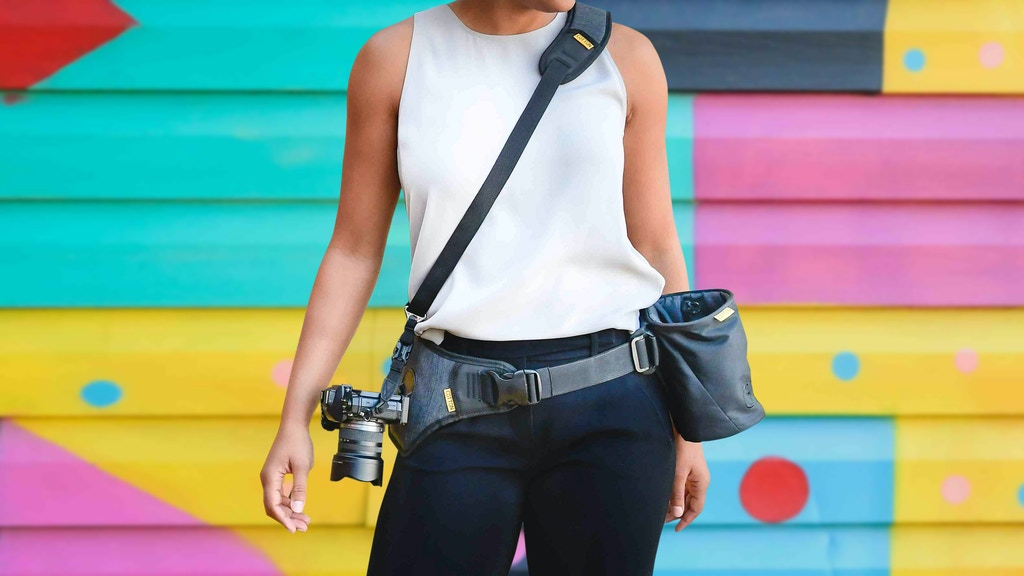 移動から撮影までトータルに撮影のし易さを追求した携帯性・機動性に優れたカメラホルダーとストラップ「SlingBelt」