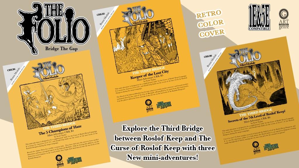 Retro RPGA Inspired 1E&5E Mini-Adventure Set project video thumbnail