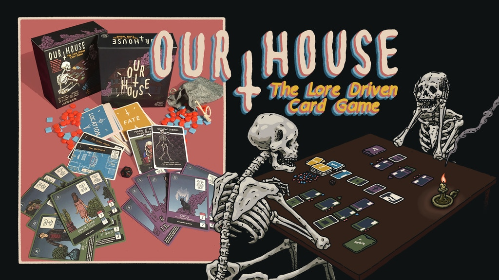 Our House: The Lore Driven Card Game project video thumbnail