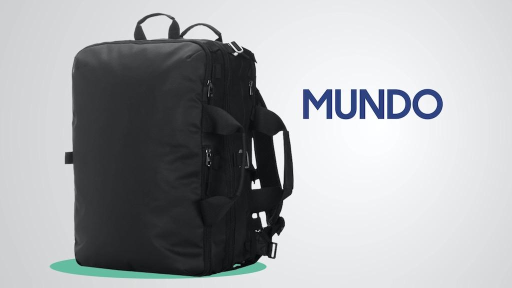 最大30Lまで拡張できるので、旅行や荷物の運搬時にとっても便利な伸縮するバックパック「Mundo Travel Pack」