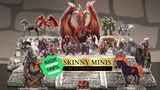 Skinny Minis: A new type of miniature for tabletop RPGs thumbnail