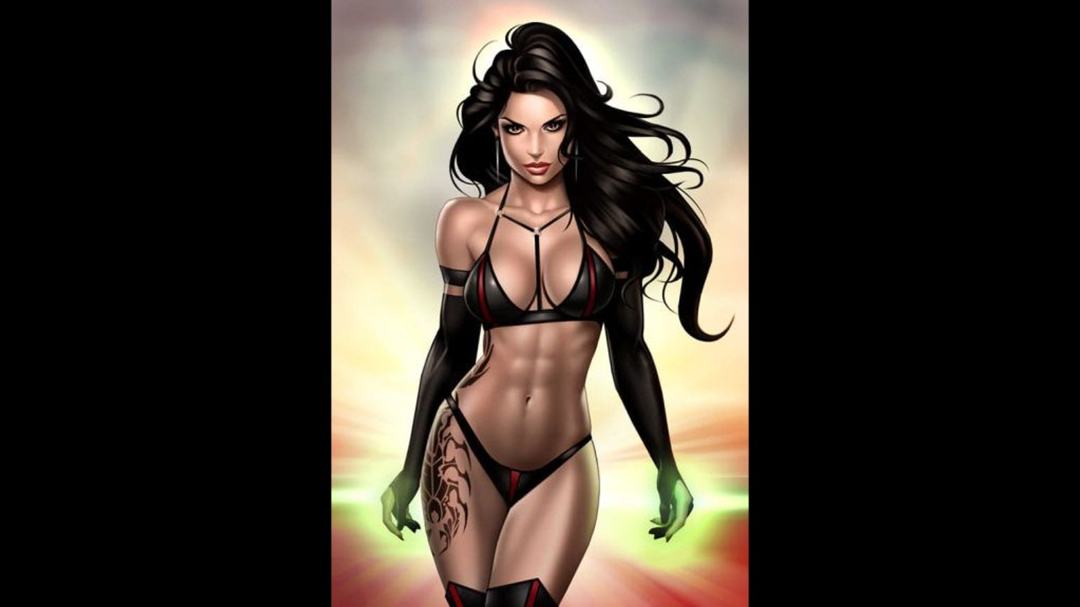 This project will fund the creation of the debut issue for a brand new superheroine, Scorpiana.