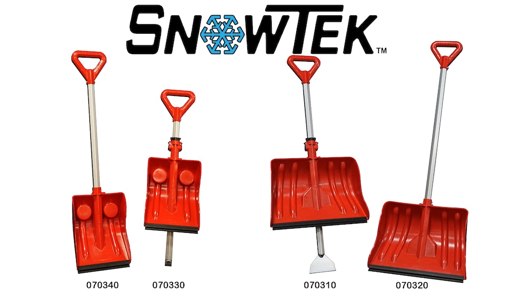 Project image for SnowTek™ - Unique Snow and Utility Shovels