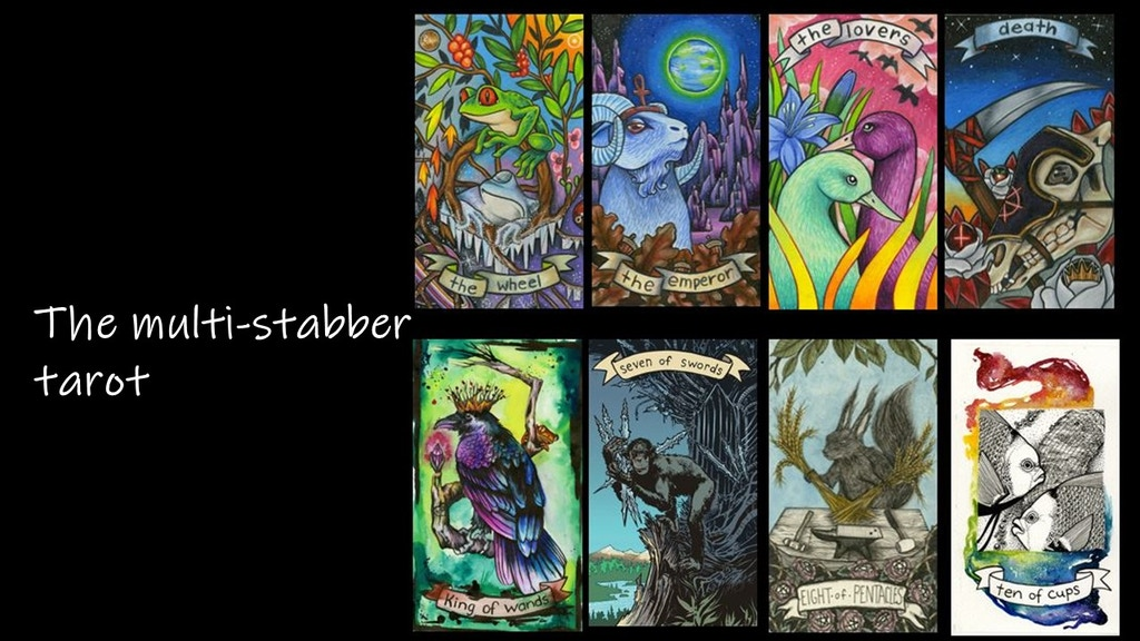 the multistabber tarot project video thumbnail