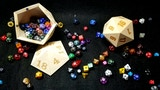 2019 RPG D&D D20 Dice Storage Case-Holds a Full Pound O'Dice thumbnail
