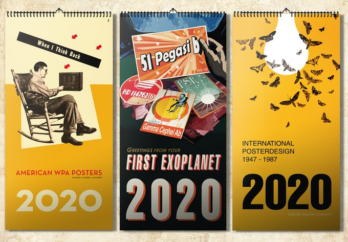 STYLE YOUR 2020: THE NASA EXOPLANET ART CALENDAR + OTHERS