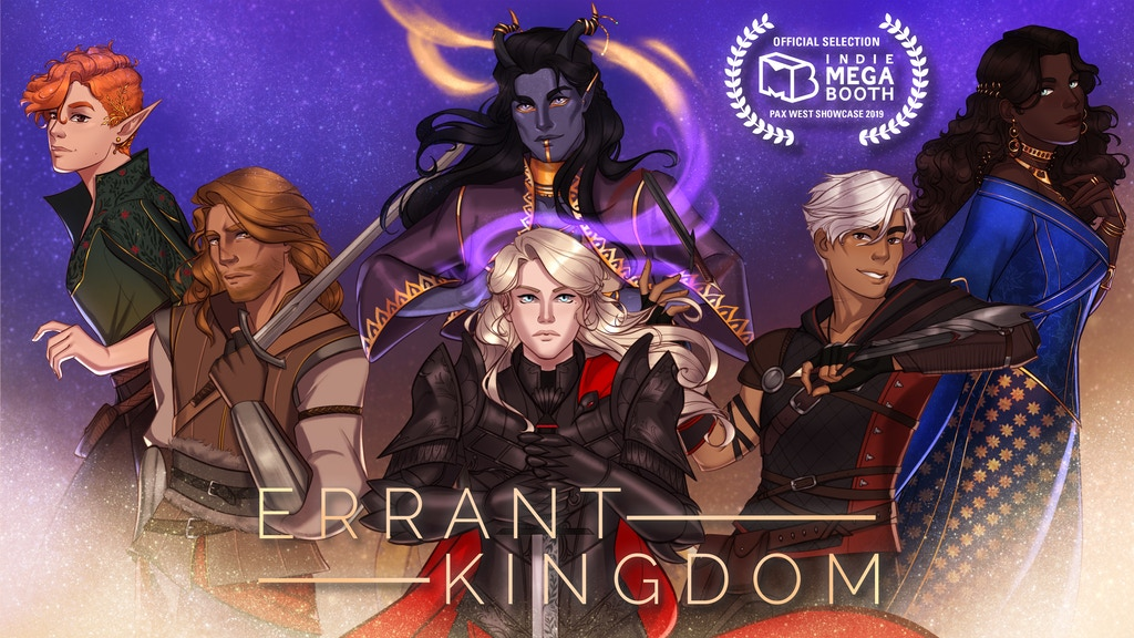 Errant Kingdom: A Queer High Fantasy Visual Novel project video thumbnail