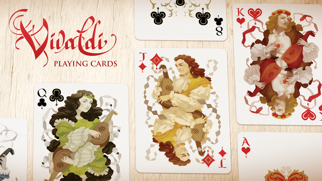 Project image for Vivaldi Playing Cards {ƒƒ} printed by USPCC