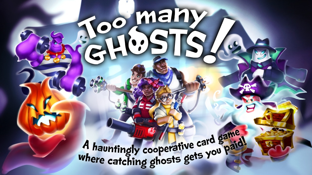 Too Many Ghosts! A Cooperative Card Game project video thumbnail