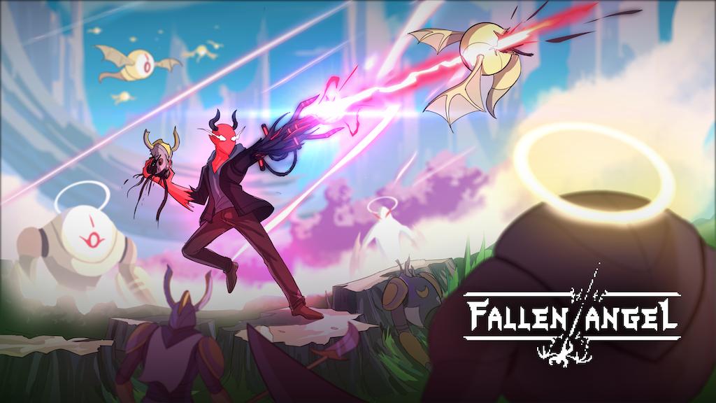 Fallen Angel A Pixel Art Hack And Slash Rpg By