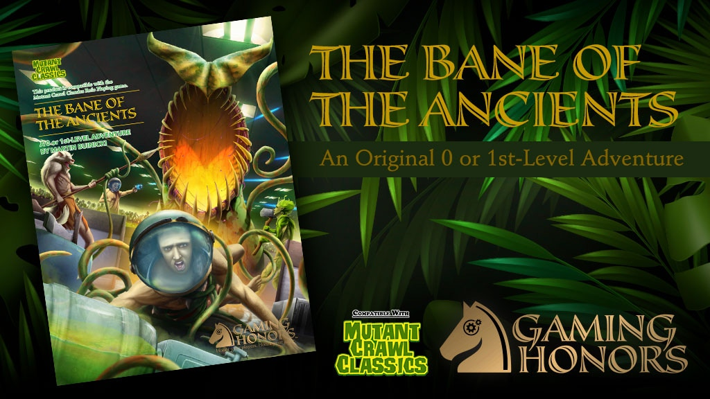 The Bane of the Ancients, MCC-Compatible RPG Module project video thumbnail