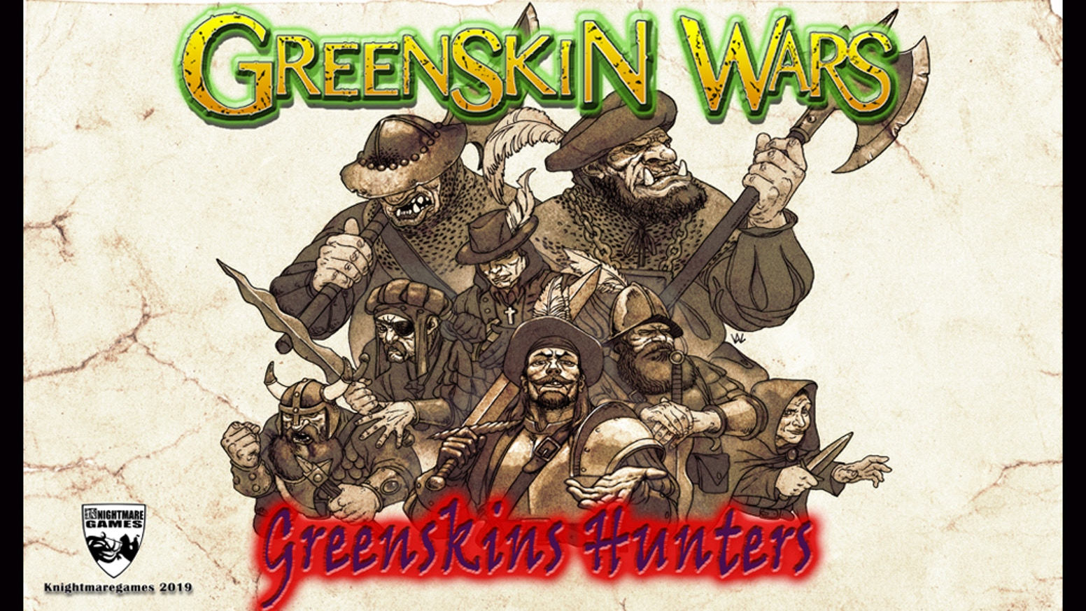 New metal miniatures for the successful range of Greenskin Wars.