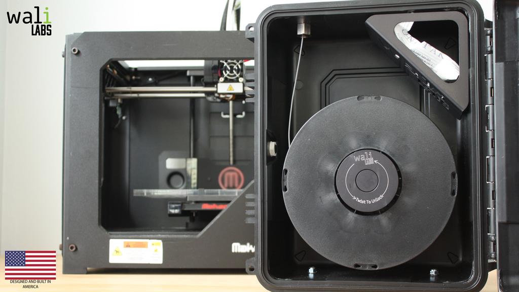 FilaSAFE: The Industrial 3D Printer Filament Holder project video thumbnail